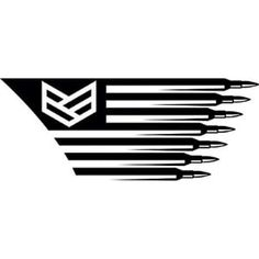 Fighter Flag Decal Sticker for Jeeps