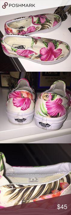 ce2236e96d Size 6 Women s custom Vans Never worn!! Vans Shoes Sneakers Custom Vans