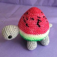 Amigurumi Watermelon Turtle : +1000 ideias sobre Tartaruga Melancia no Pinterest ...