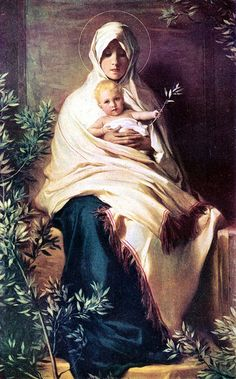 Classic images of the Madonna Virgin Mary with the infant Jesus. Mary and baby Jesus. Blessed Mother Mary, Divine Mother, Blessed Virgin Mary, Religious Images, Religious Art, Images Of Mary, Queen Of Heaven, Sainte Marie, Jesus Art