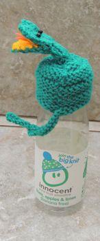 Hat Big Knit snake / Goedgemutste breicampagne mutsje slang