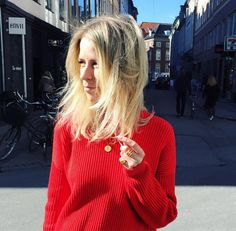 "#hvisk #hviskstylist ""ootd #red #jewellery"