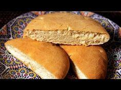 Khobz – Moroccan White Bread Recipe – CookingWithAlia