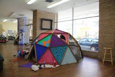 How do you make an Art Dome?