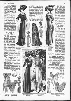 corset-cover style and short brassieres from 1910 De Gracieuse