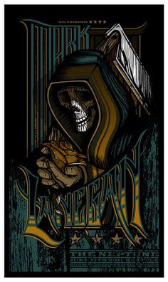 Mark Lanegan. The Neptune, Seattle, WA. 06/17/2011 | Brad Klausen