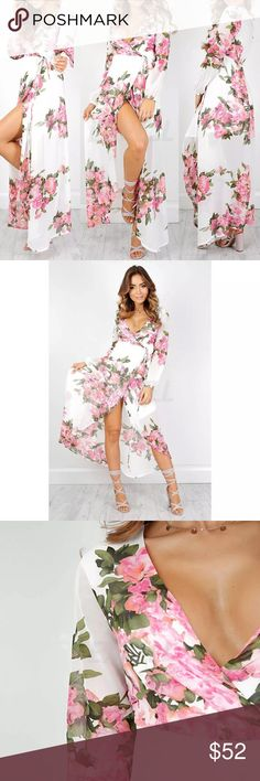 COMING SOON  . Coming Soon   Fun and flirty summer maxi dress. Semi-sheer, lightweight summer beach dress. Perfect to wear over your swimsuit on those warm summer evenings. Please tag yourself if you're interested ❤️ Dresses Maxi