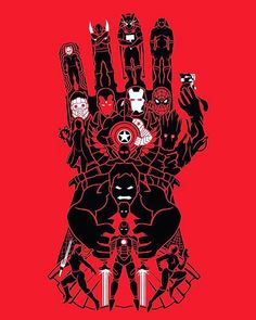 Damn . . . . #marvel #infinitywar #infinitygauntlet #fanart #fanmade #spiderman #thor #hulk #blackwidow #captainamerica…