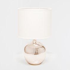 METALLIC GLASS LAMP - Lamps - Bedroom | Zara Home Suomi / Finland