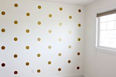 Vinyl Wall Sticker Decal Art Polka Dots por urbanwalls en Etsy