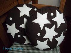 Cuscini in micro pile a pan di stelle