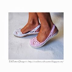 Sophie and Me: CROCHET SLING-BACK SLIPPER PATTERN - FRESH OFF THE HOOK!