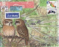 Danielle Maret - Mail Art 243, via Flickr.