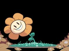 The perfect Flowey Undertale Animated GIF for your conversation. Discover and Share the best GIFs on Tenor. Undertale Flowey, Undertale Gif, Frisk, Flowey The Flower, Chara, Dark Flower, Fotos Do Pokemon, Toby Fox, Apps