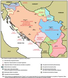 The 17 best maps of eastern europe images on pinterest eastern map showing the axisfascist occupation and partition of yugoslavia in wwii historical mapssouthern europeeastern gumiabroncs Gallery