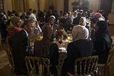 President Obama Hosts a Ramadan Iftar Dinner at the White House