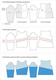 Nähe einen Kapuzenpulli aus Sweat im Naketano Style ganz einfach selber! Mit Schnittmuster und Nähvideo von pattydoo.