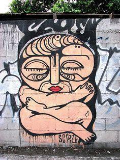 Mexican street art Street Art Utopia, Murals Street Art, Graffiti Murals, Art Mural, Street Art Graffiti, Urban Street Art, Urban Art, L'art Du Portrait, Art Rules