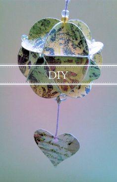 CukiMuki: DIY + Bola de papel decorativa