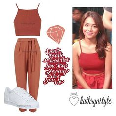 """""""Kathryn's exact outfit for ASAP Child Actresses, Child Actors, Kathryn Bernardo Outfits, Essential Clothing, Fashion Models, Fashion Outfits, Corporate Attire, Ootds, Minimalist Living"""