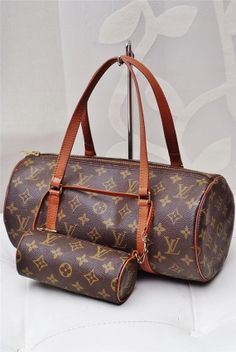 56f1cb09444c The Louis Vuitton Papillon 30 Brown Leather   Monogram Canvas Shoulder Bag  is a top 10 member favorite on Tradesy.
