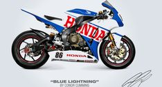 Vote Your Pick From 8 Honda Fireblade Racing Paintjobs! Winning Design May See Showrooms