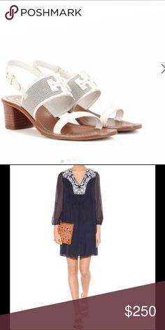 NWT Tory Butch sandals NWT Tory Butch sandals never worn come with original box Tory Burch Shoes Flats & Loafers