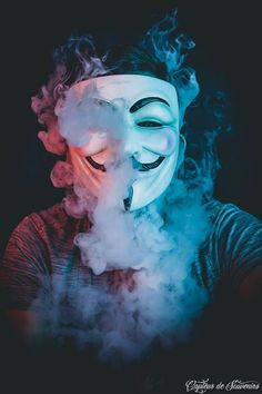 """You wear a mask for so long, you forget who you were beneath it."" ― Alan Moore, V for Vendetta⁣ . Hacker Wallpaper, Supreme Wallpaper, Dp Photos, Pictures Images, Smoke Wallpaper, Wallpaper Backgrounds, Wallpaper Pictures, Photo Wallpaper, Anonymous Mask"