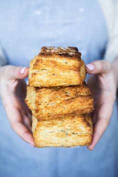 Roasted-Garlic and Rosemary Biscuits recipe by Jake Cohen Rosemary Biscuits Recipe, Biscuit Recipe, All You Need Is, Breakfast Pastries, Sausage Gravy, Food Out, Roast Recipes, Roasted Garlic, Recipe Of The Day