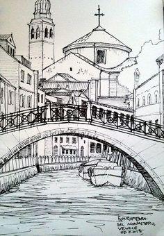 Resultado de imagen de urban sketch