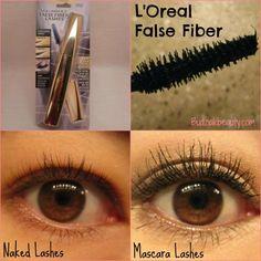 mascara mayhem - l'oreal false fiber