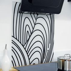 Contemporary splashback from My Kitchen Store | Kitchen splashbacks | Kitchen design ideas | PHOTO GALLERY | housetohome.co.uk