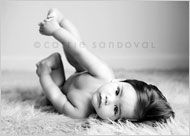 How to Take Better Baby Photos - by newborn photographer Carrie Sandoval - Captured by Carrie