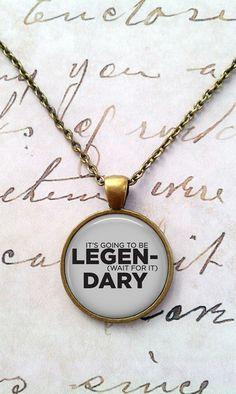 Legendary Necklace How I Met Your Mother Barney by teaANDtentacles, $8.75