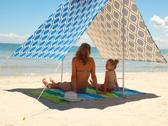 What A Fun Portable Beach Cabana