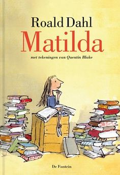 A delightful limited edition print of Matilda, from Roald Dahl's ...