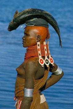 Turkana Bride by Carol Beckwith and Angela Fisher