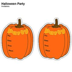 100 Days of Holidays: Halloween Invitations (via Parents.com)