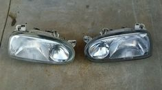 vw golf mk3 headlights  | VW Golf mk3 headlights | eBay