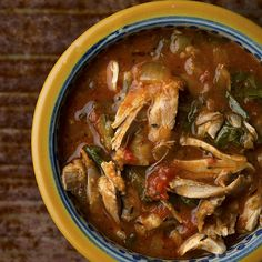 Squirrel Stew with Paprika and Greens Recipe Soups, Main Dishes with squirrel, salt, flour, olive oil, onions, garlic cloves, tomato paste, white wine, cider vinegar, savory, red pepper flakes, paprika, whole peeled tomatoes, smoked sausage, greens, black pepper