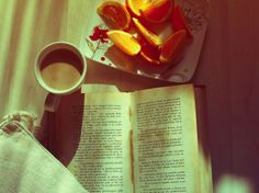 coffee + books for a great morning/afternoon/night/anytime