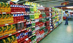 Lineal de alimentacion, en el que se puede observar que predomina una marca ocupando gran parte. Mario Bellido