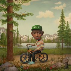"One of the most respected and admired pop surrealist American painters Mark Ryden was commissioned to do the cover for Tyler's upcoming album, ""Wolf"". It's an interesting yet unlikely choice but the result is as expected amazing."