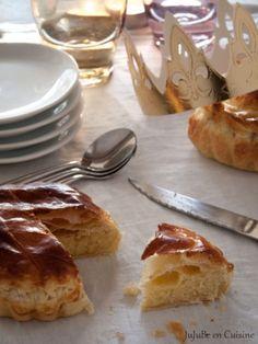 Pithiviers feuilleté ou galette des rois à la crème d'amande