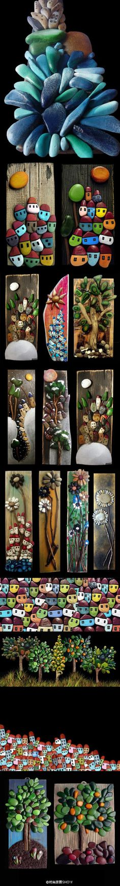 these are all made from stones..