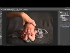 Head In Hands Composite Tutorial Adobe Photoshop | dna | photography | newborn photography