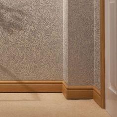 100mm-x-2-5m-Ogee-Torus-Skirting-Board-UPVC-Plastic-White-Oak-Rosewood-Roomline