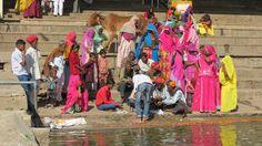 Sur les ghats de Pushkar
