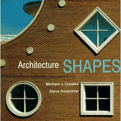 Architecture Shapes book in block area :-)