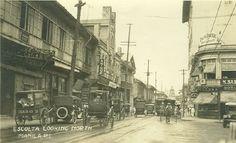 Escolta, Manila 1920